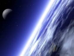 Space Wallpaper - Earth surface