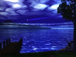 Landscape Wallpaper - Watching stars