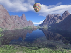 3D and Digital art Wallpaper - Altitude