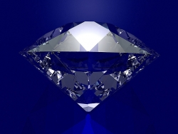 3D and Digital art Wallpaper - Giant diamond