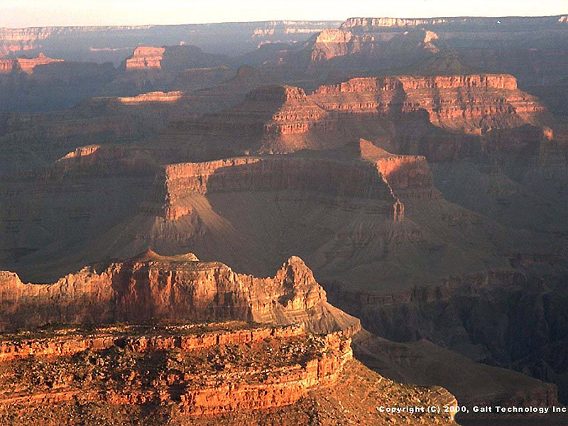 Grand brown canyon