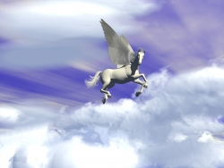 3D and Digital art Wallpaper - Pegasus