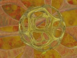 3D and Digital art Wallpaper - Abstract ball