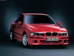 Car Wallpaper - Red BMW