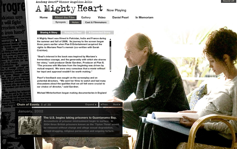 A mighty heart 2