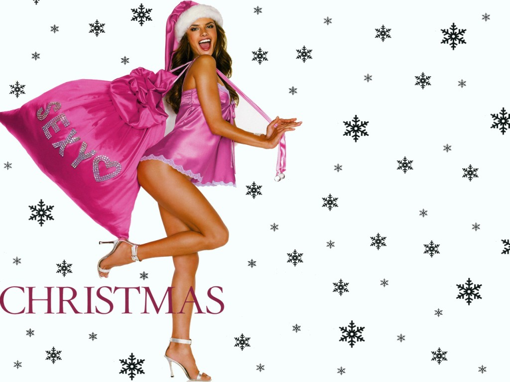 Sexy Chirstmas -wallpaper