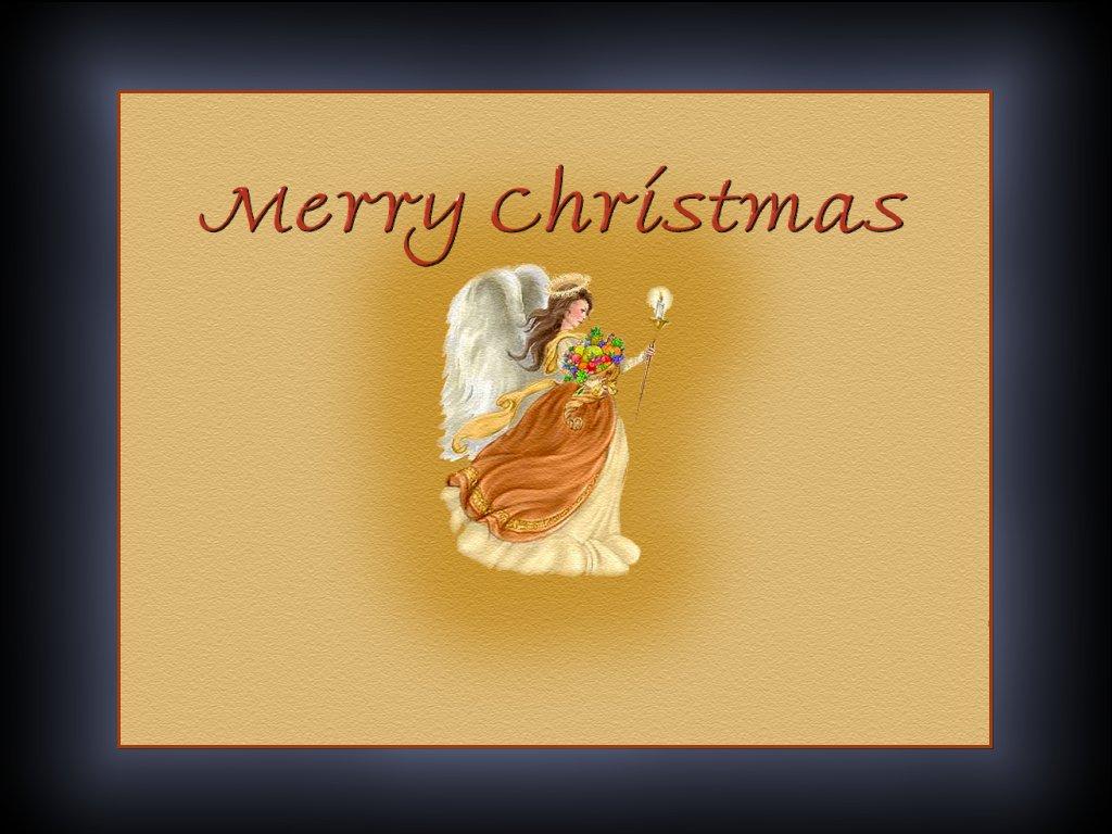 Angle Merry Christmas