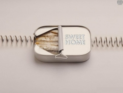 Funny Wallpaper - Sardine's sweet home