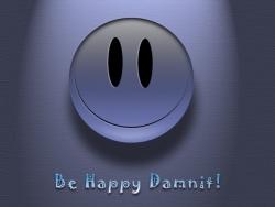 Animated/Cartoon Wallpaper - Be happy