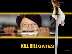 Celebrity Wallpaper - Kill Bill Gates