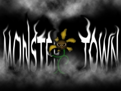 Animated/Cartoon Wallpaper - Monster town