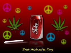 Funny Wallpaper - Be Merry