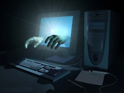 3D and Digital art Wallpaper - The magic hands