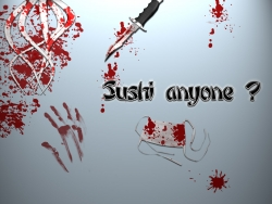 Funny Wallpaper - Sushi anyone