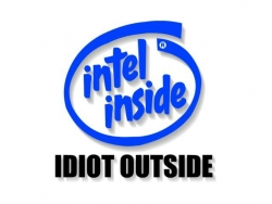 Funny Wallpaper - Idiot outside