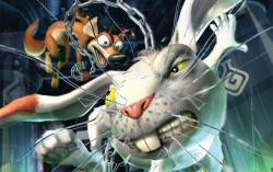 3D and Digital art Wallpaper - Fox and rabbit