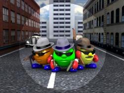 Animated/Cartoon Wallpaper - The cowboys