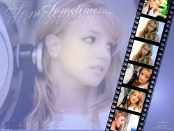 Celebrity Wallpaper - Brit - Sometime
