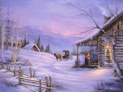 Animated/Cartoon Wallpaper - Warm house