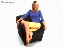Model Wallpaper - Teresa Livingstone