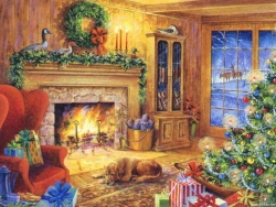 Christmas Wallpaper - Xmas house