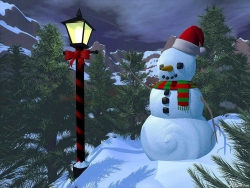 Christmas Wallpaper - Xmas snowman