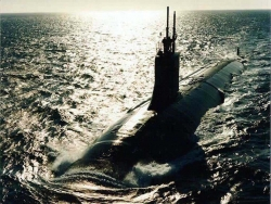 Military Wallpaper - Submarine floats