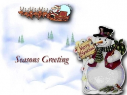 Christmas Wallpaper - Seasons Greating