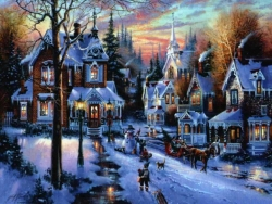 Christmas Wallpaper - Xmas nite