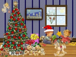 Christmas Wallpaper - Xmas angel