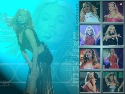 Celebrity Wallpaper - Brit's live show