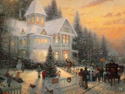 Christmas Wallpaper - Xmas garden