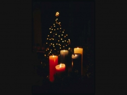 Christmas Wallpaper - Candles