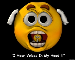 3D and Digital art Wallpaper - Head voices