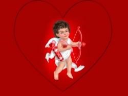 Valentine/Love Wallpaper - Cupid