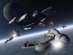 Space Wallpaper - Space ships