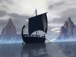 Landscape Wallpaper - Black Pearl