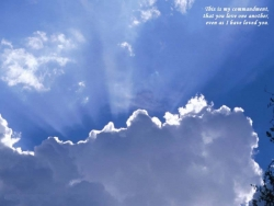Nature Wallpaper - Blue sky