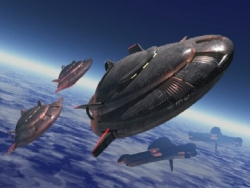 Space Wallpaper - Space ships 2