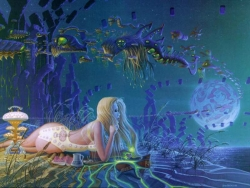 3D and Digital art Wallpaper - Underwater fantasy