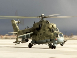 Military Wallpaper - Hind helicopter