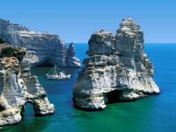 Landscape Wallpaper - Milos island