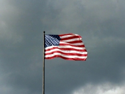Photograph Wallpaper - American flag