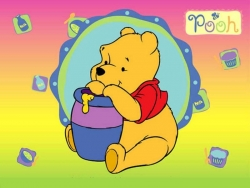 Animated/Cartoon Wallpaper - Winnie Pooh