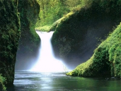 Nature Wallpaper - Nice waterfall