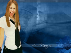 Model Wallpaper - Avril Lavigne