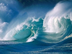 Nature Wallpaper - Cruel waves