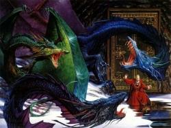 3D and Digital art Wallpaper - Dragons