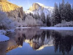 Landscape Wallpaper - Snowy mountain