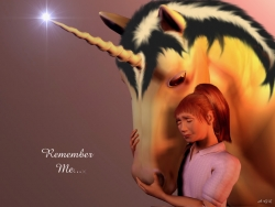 3D and Digital art Wallpaper - Unicorn's friendship